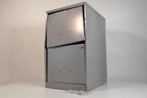 Space Solutions Office Dimensions 18 Deep 2 Drawer Metal File 20223 Preowned