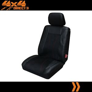 Single Leather Suede Look Seat Cover For Pontiac Fiero