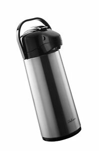 Bellemain 2 2 Liter Airpot Coffee Dispenser With Pump Stainle Top Daily Deal