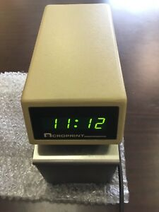Acroprint Etc Digital Time Stamp Digital Clock