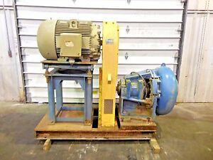Rx 3618 Metso Mm250 Fhc d 10 X 8 Slurry Pump W 100hp Motor And Frame