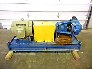 Rx 3641 Metso Hm100 Lhc d 4 X 3 Slurry Pump W 40hp Motor And Frame