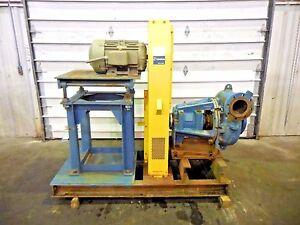 Rx 3611 Metso Mm200 Fhc d 8 X 6 Slurry Pump W 15hp Motor And Frame