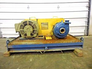 Rx 3645 Metso Hm50 Lhc d 3 X 2 Slurry Pump W 40hp Motor And Frame