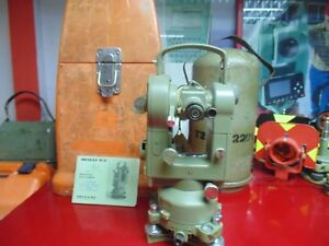 Wild Heerbrugg Theodolite T2 Serial 322201 Ready For Works