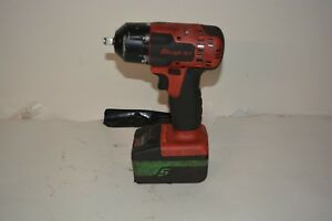 Snap On 18v 3 8 Impact Drill Li ion Ct8810a With Battery Ctb7185g