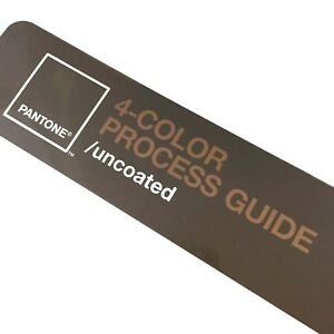 Pantone 4 color Process Guide Uncoated New Factory Sealed Reference Tool