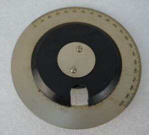 Vintage General Radio Type 704 Precision Dial With Knob
