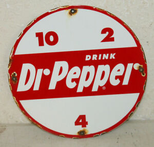 Vintage Style Dr Pepper 10 2 4 Porcelain Signs Country Store Advertising
