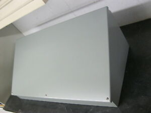 Wiegmann Wc16c30 Sloped Cover Console Enclosure Consolet 16 X 30 X 11 Gray Steel