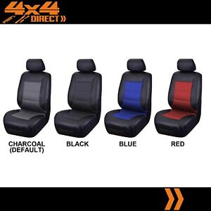 Single Water Resistant Leather Look Seat Cover For Pontiac Fiero