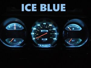 Gauge Cluster Leds Bulb Ice Blue For Dodge 81 89 Ram D100 D350 Dash Light