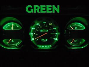 81 89 Dodge Ram D100 D150 D250 D350 Truck Gauge Cluster Led Dashboard Bulb Green