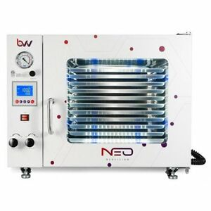 Bvv 1 9cf Neocision Certified Lab Vacuum Oven 5 Wall Heat Led 39 s 11 Sh