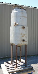 90 Gallon Jacketed Tank Stainless Steel