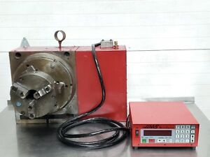 Haas Pneumatic Air Rotary Table W Servo Motor Control Hrt 310 12 Indexer 115v
