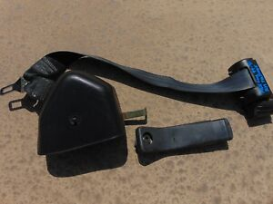 1994 98 Ford Mustang Convertible Black Rh Passenger Front Seat Belt 7 8 Latch