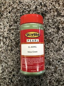 Starlite Pearl Sl 80prl Moss Green Pearl 150g Use In Place Of Dupont 1008s