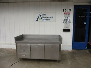 Stainless Steel 72 X 30 Bakers Prep Table work Table 3732