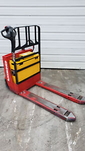 2013 Raymond Electric Pallet Jack 4500 Lbs 102t f45l With On Board Charger
