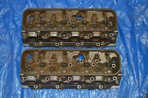 1968 Big Block Chevy 396 427 Rectangle Port Heads 3919840 840 F18 C13 9 69 Hipo