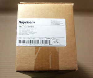 New Raychem Hvt z 151 sg 15kv 1 c Outdoor Termination Kit Box Of 3