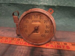 Old Ford Dash Gauge Speedometer Used Take Out 60517 Miles