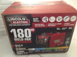 Lincoln Electric Weld Pak 180 Hd Brand New