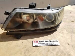 2004 08 Honda Accord Cl7 Euro R Kouki Black Xenon Hid Left Headlight Jdm Oem