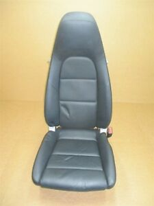 13 Boxster Rwd Porsche 981 R Front Black Leather 14 Way Seat Passenger 36 797
