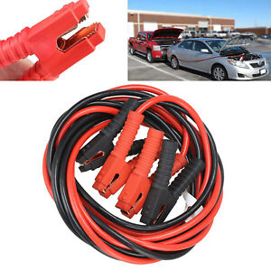 1200amp 1 Gauge Booster Cables 20ft Power Start Jumper Heavy Duty Car Van New Us