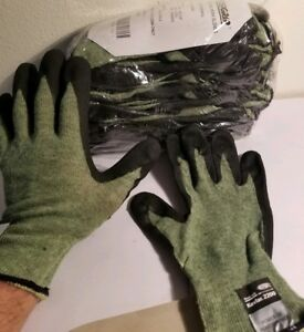 West Chester Posigrip Work Gloves Nitrile Dipped Kevlar Steel Spandex Lined Xl