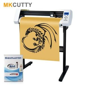27 Vinyl Cutter Machine W software Vinly Sign Plotter With Design Cut