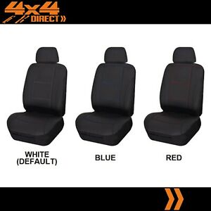 Single Stitched Leather Look Seat Cover For Pontiac Fiero