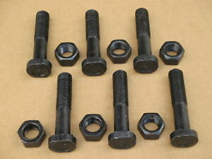 6 Oem Style Rim Wheel Bolt Hardware For Massey Ferguson Mf 50 550 Combine 65 765