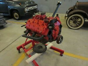Ford Flathead V8 Engine 1949 1953 Hot Rat Rod Scta Trog Model A Speedster