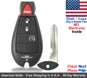 1x New Replacement Keyless Remote Key Fob Case For Caravan Dodge Ram Shell Only