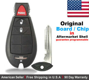 1x Oem Replacement Keyless Entry Remote Key Fob For Chrysler Dodge Caravan