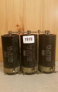3200uf 350v Large Can Electrolytic Aluminum Capacitor 3200mfd 350vdc Lot Of 3