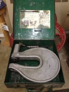 Greenlee Tool No 1731 One Shot Hydraulic Knockout Punch Driver
