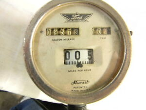 Model T Ford Stewart Vintage Speedometer With Angle Mount