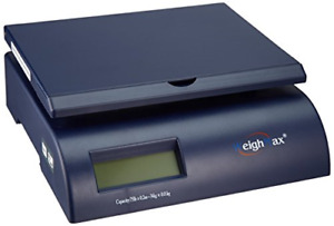 Weighmax Postal Shipping Scale With Battery And Ac Adapter Blue W 2822 75 blue