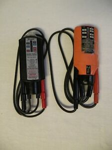 2 Klein Tools Voltage Tester Wiggy Series A 69115 Model 9100