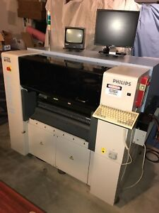 Philips assembleon Eclipse 2 With Lcs Smt Pick And Place Machine