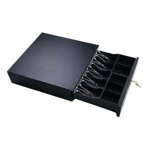 Cash Drawer Box Money Register Storage Receipt Pos Printers Compatible With Tray
