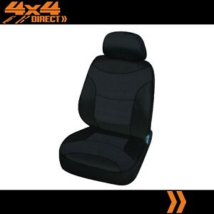 Single Black Modern Jacquard Seat Cover For Pontiac Fiero