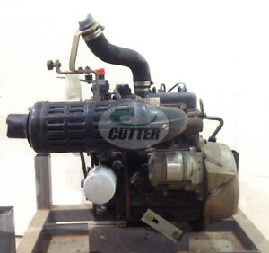 Used Kubota D662 3 Cylinder 18hp Non Turbo Charged Diesel Engine