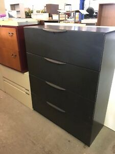 4dr 42 wx18 dx53 h Lateral File Cabinet By Haworth Office Furniture W Lock