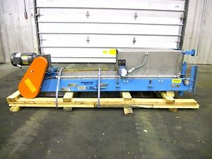 Rx 2115 Bunting Vertical Magnetic Conveyor W Bucket
