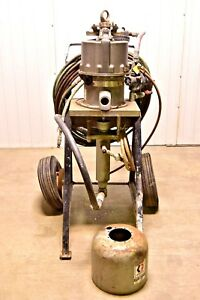 Graco King Air Powered Sprayer 207 647 208 003 45 1 Ratio For Parts Or Repair